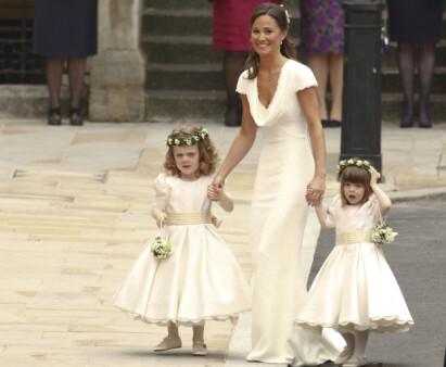 BLE BERØMT: Etter storesøster Kates bryllup i april 2011, var Pippa Middleton på «alles» lepper. Foto: NTB scanpix