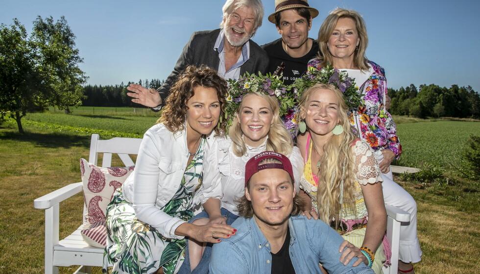 FIN GJENG: De seks deltakerne skal tolke hverandres låter i åttende sesong av «Hver gang vi møtes» på TV 2. Foto: Hans Arne Vedlog/ Dagbladet