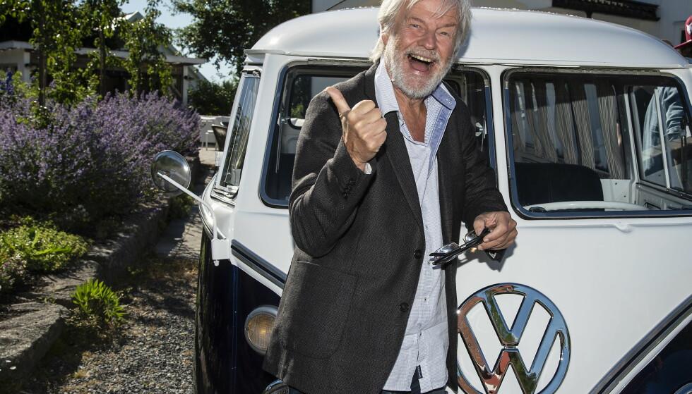 VIL BRUKE HUMOR: Artist og komiker Tom Mathisen. Foto: Hans Arne Vedlog/ Dagbladet