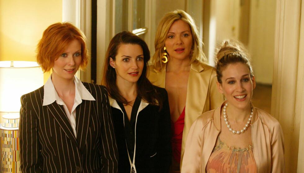 SEERMAGNET: «Sex og singelliv» ble en stor suksess verden over. FOTO: HBO