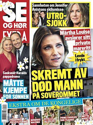 I SALG NÅ: Les mer i fredagens utgave av Se og Hør Extra.
