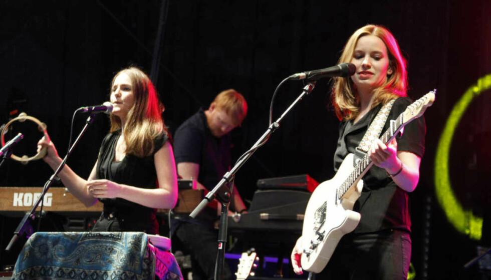 SUKSESS: Marit Larsen har gjort det stort både i Norge og i utlandet. Her spiller hun under en konsert i Tyskland. Foto: NTB scanpix