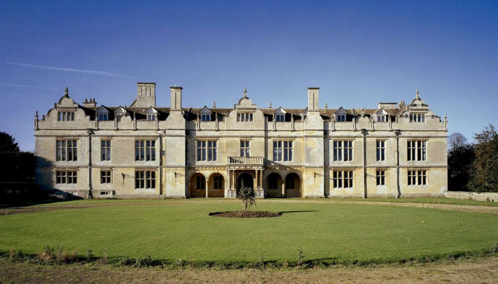 <strong>APETHORPE PALACE:</strong> Det var like ved Apethorpe Palace i Northamptonshire i East Midlands at den tyske prinsen deltok på et hesteveddeløp som endte fatalt. Foto: NTB scanpix