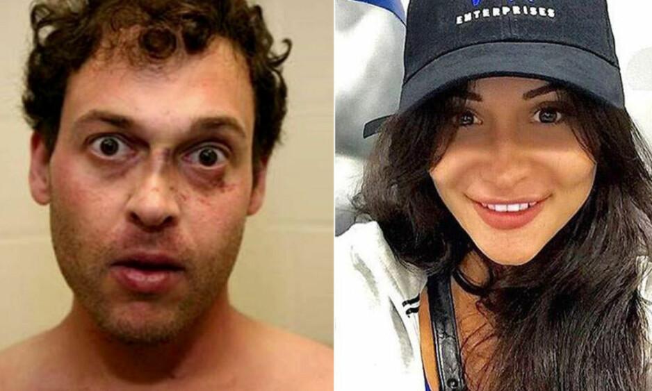 BLE DREPT: Blake Leibel og Iana Kasian (t.h.) fikk sitt første barn sammen i 2016. Tre uker sinere ble Kasian funnet drept i leiligheten sin. Foto: Los Angeles County Sheriff's Dept./HO, Facebook