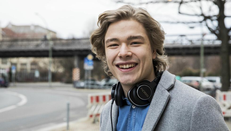 SKOLEKLAR: Jonas Oftebro (22) er en av de ti som kom gjennom nåløyet. Foto: NTB Scanpix