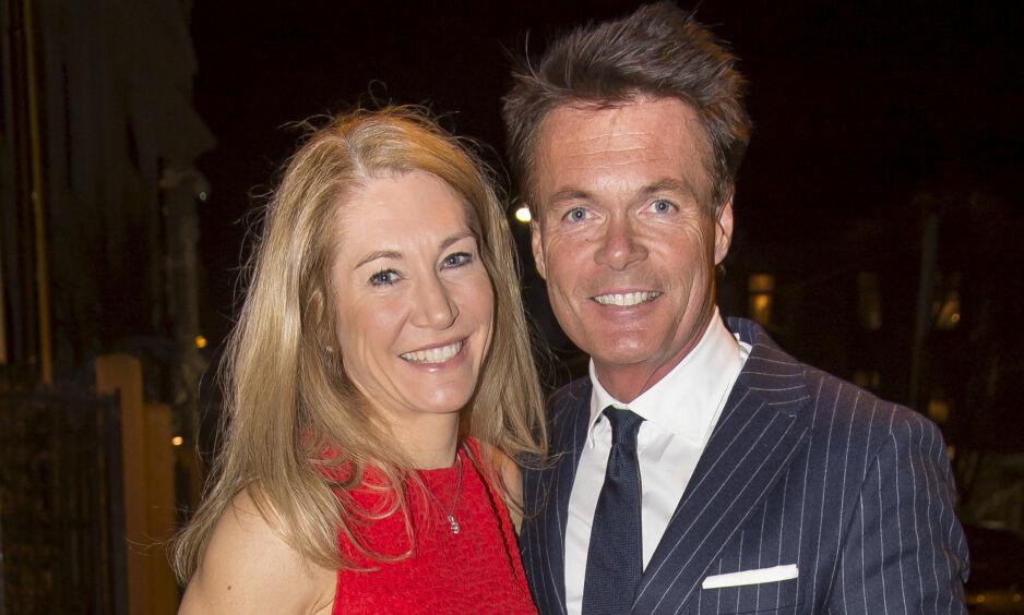 SEPARERES: Julie Brodtkorb (43) og ektemannen Thore Kristiansen (56) separeres. Foto: Tore Skaar / Se og Hør