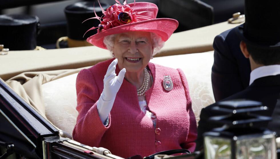 SYK: Dronning Elizabeth føler seg ikke bra og måtte avlyse dagens planer. Det melder Buckingham Palace. Foto: NTB Scanpix