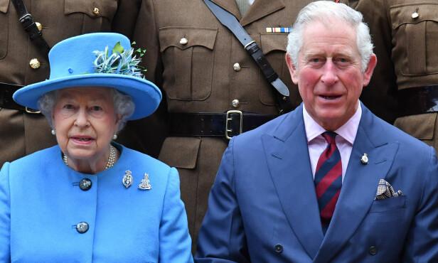 TRONARVING: Dronning Elizabeths sønn, prins Charles, arver tronen den dagen hun går bort. Foto: NTB Scanpix
