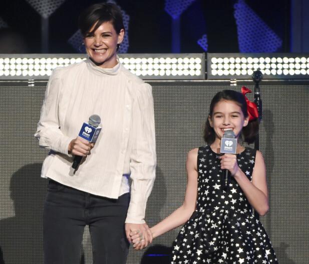 SJARMTROLL: Katie har datteren Suri med Tom Cruise. Foto: NTB Scanpix