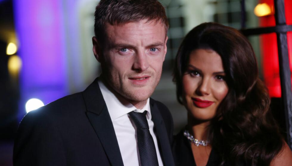STJERNESTATUS: Vardy-paret er av flere omtalt som etterfølgerne til David og Victoria Beckham. Foto: NTB scanpix