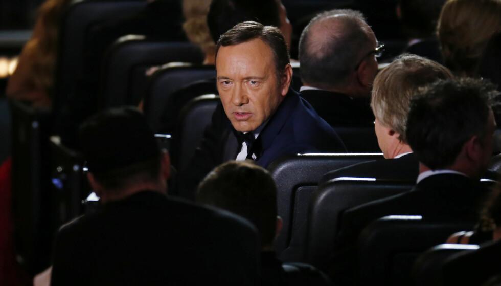 <strong>KORTHUSET SOM FALT:</strong> Den Oscar-belønnede skuespilleren Kevin Spacey var en av mange som ble felt i forbindelse med #metoo-kampanjen. Her avbildet i 2013. Foto: NTB Scanpix