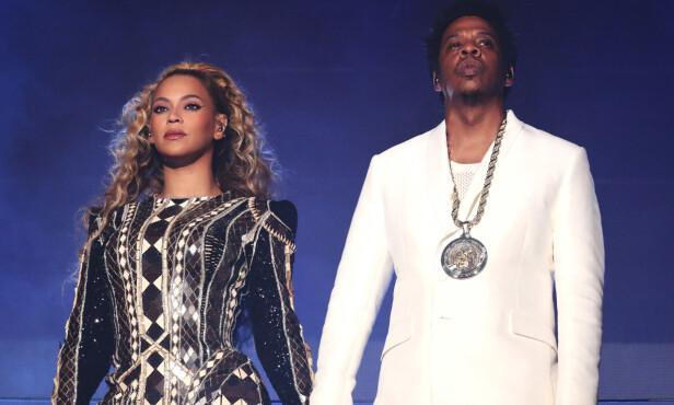 SUPERDUO: Beyoncé og ektemannen Jay Z turnerer sammen i Europa i disse dager. Foto: NTB Scanpix