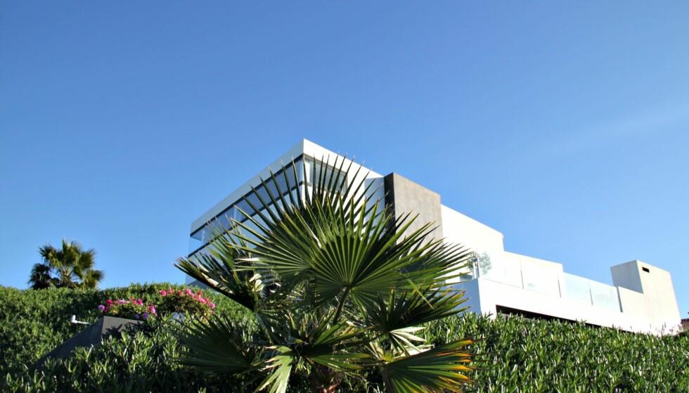FUNKIS: Villaens design bærer tydelig preg av minimalisme og funkiselementer. Foto: Los Dolores
