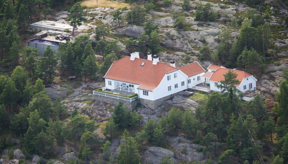 ARVEGODS: Märtha arvet flotte Bloksbjerg fra kong Olav. Foto: Se og Hør