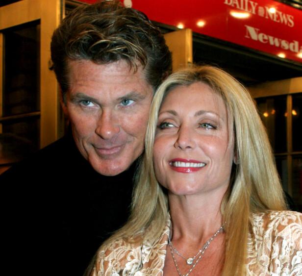 <strong>EKS:</strong> David Hasselhoff og ekskona, Pamela Bach. Foto: NTB Scanpix