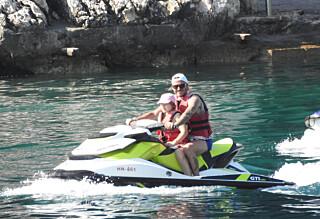Se bildene fra Beckhams familieferie i Kroatia