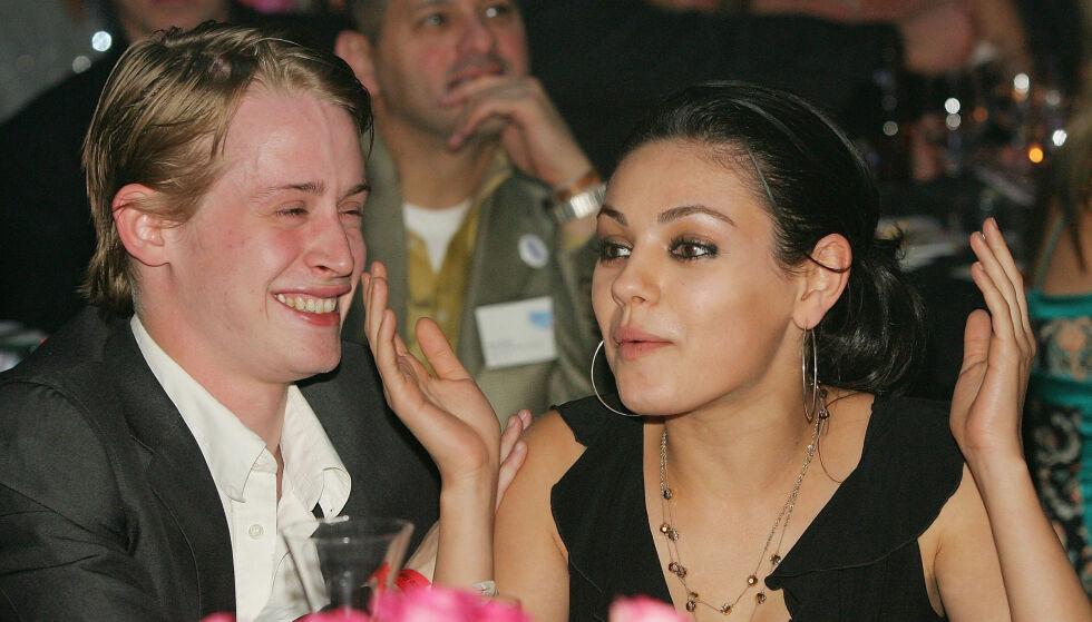 PROFILERT PAR: Mila og Macaulay var et hett par i mange år. Her sammen i 2005. Foto: NTB Scanpix