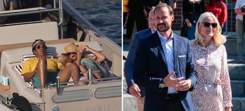 Beyoncé gjør som Mette-Marit og Haakon