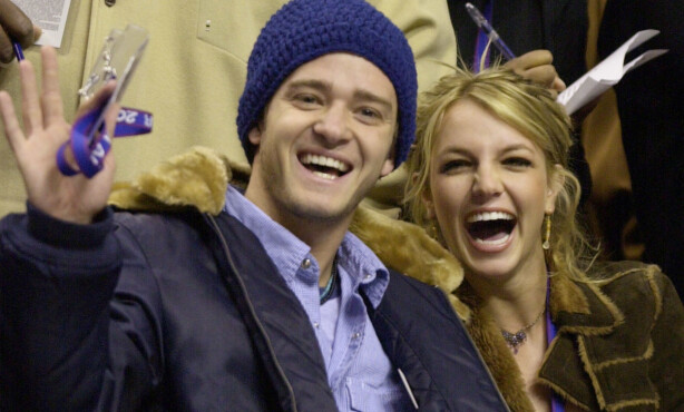 <strong>HETT PAR:</strong> Justin Timberlake og Britney Spears ble sett på som et av Hollywoods heteste par da de var sammen. Foto: NTB Scanpix