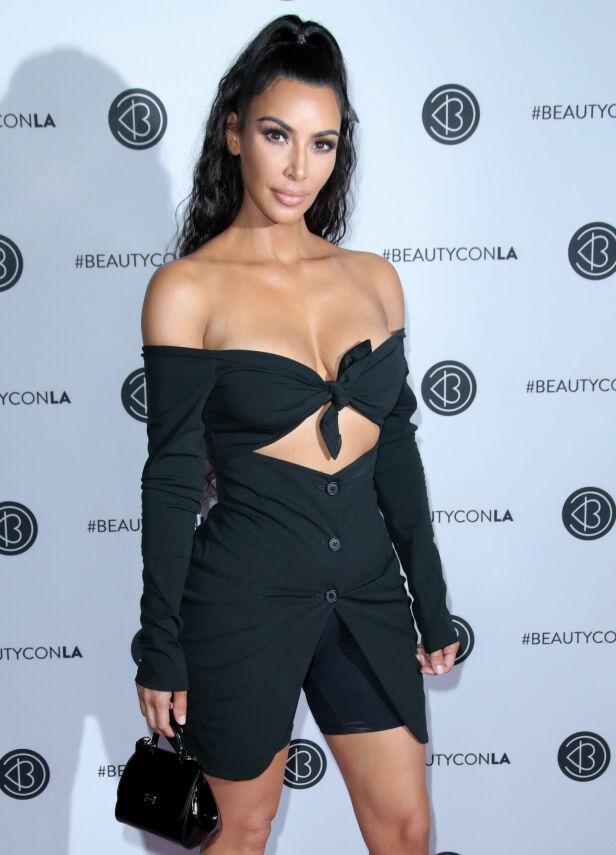 KIM KARDASHIAN: Isabel Raad har i mange år vært stor fan av realitystjernen Kim Kardashian. Her er Kim avbildet i Los Angeles tidligere i sommer. Foto: NTB Scanpix