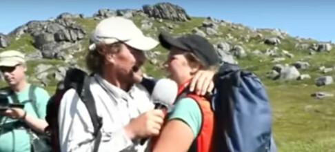Overrasket ektemannen på fjellet