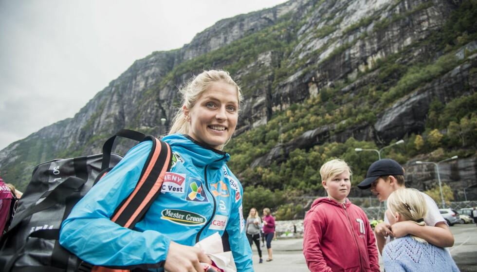 KLAR FOR COMEBACK: Therese Johaug har ligget i hardtrening de siste månedene. Nå skal hun konkurrere i skiløypa for første gang på to og et halvt år. Foto: Andreas Lekang / Dagbladet
