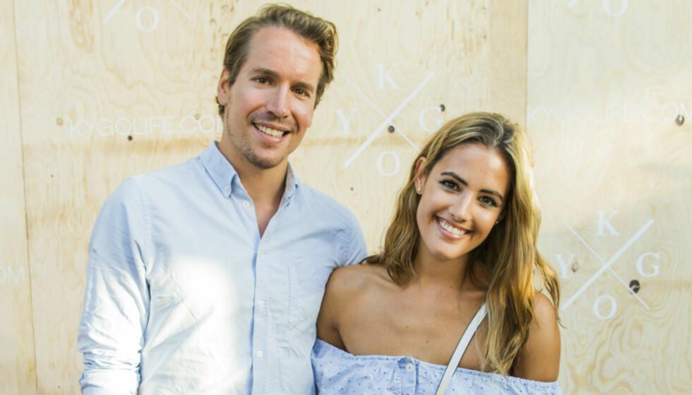 BLIR FORELDRE: Samantha Skogrand og Emil Helge Svendsen venter sitt første barn, Foto: NTB scanpix