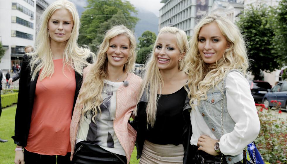 VENNINNER: Mari har fremdeles kontakt med «Tigerstaden»-jentene. Fra venstre: Therese Haugsnes, Mari Haugersveen, Linni Meister og Carina Dahl. Foto: Paul S. Amundsen / NTB scanpix