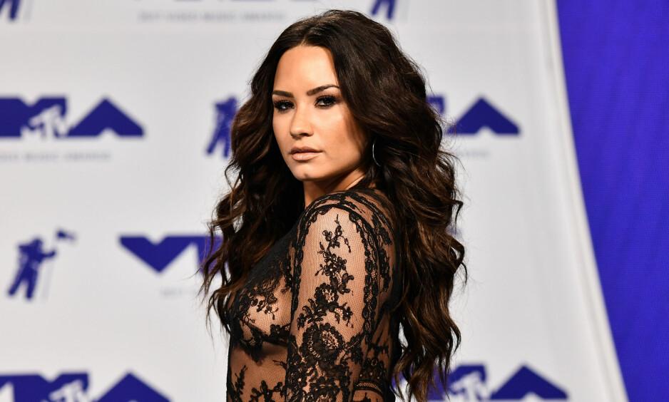 INNLAGT: Tidligere i sommer ble Demi Lovato innlagt på sykehuset etter det flere mistenker var en heroinoverdose. Nå snakker hun for første gang etter sykehusinnleggelsen. Foto: NTB Scanpix