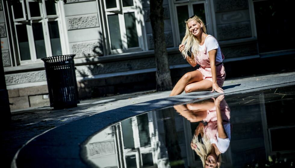 FORHOLDSJENTE: Mari Haugersveen mener selv hun er dårlig på å være singel. Foto: Christian Roth Christensen/Dagbladet