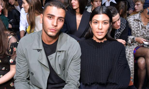<strong>TOK SLUTT:</strong> Kourtney Kardashian og Younes Bendjima gikk etter alt å dømme hver til sitt i august. Foto: NTB Scanpix