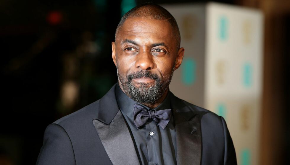 AGENT 007?: Ryktene skal ha det til at skuespiller Idris Elba overtar rollen som «James Bond» etter Daniel Craig. Foto: NTB Scanpix
