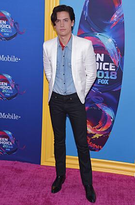 <strong>VINNER:</strong> Cole Sprouse vant også prisen for beste skuespiller. Foto: NTB Scanpix
