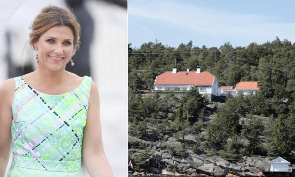 SELGER HYTTA: Prinsesse Märtha Louise er i ferd med å selge sommerhuset på Hankø. Foto: NTB Scanpix