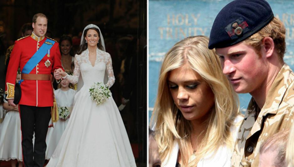 <strong>VENDEPUNKTET:</strong> Fra midten av 2000-tallet var Chelsy Davy og prins Harry i et av-og-på-forhold. Nå kommer det frem nye detaljer om deres forhold, og hvordan bryllupet til hertuginne Kate og prins William skal ha vært hovedårsaken til bruddet. Foto: NTB Scanpix