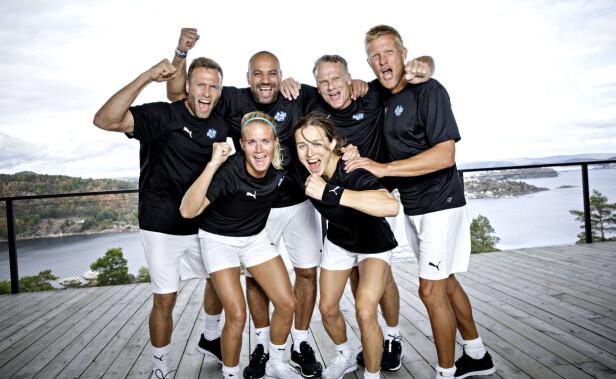 MESTERNE: «Mesternes mester»-laget består av Frode Grodås, Marco Elsafadi, Tor Arne Hetland, Solveig Gulbrandsen, Andreas Ygre Wiig og Astrid Lødemel. Foto: Nina Hansen / Dagbladet