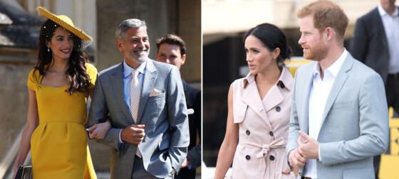 - Satt barnevakt for Clooneys tvillinger