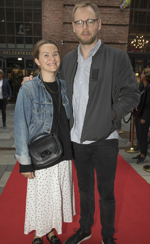 EKTEPAR: Live Nelvik og Tore Sagen giftet seg 24. august 2013. Torsdag var de sammen på «Kultur»-premieren til Pernille Sørensen, Foto: Tore Skaar/ Se og Hør
