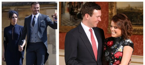- David og Victoria Beckham blant bryllupsgjestene