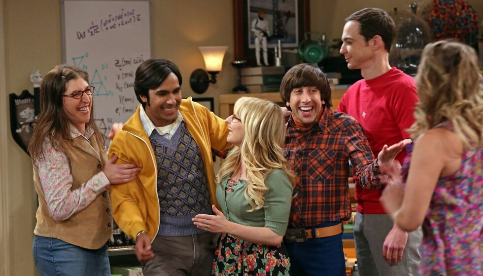 POPULÆRE: Tv-serien «The Big Bang Theory» har rullet på tv-skjermen siden 2007. Foto: CBS/Chuck Lorre Productions