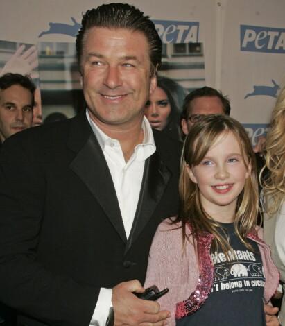 VOKST OPP I RAMPELYSET: Ireland Baldwin er eldstedatteren til filmstjernen Alec Baldwin. Foto: NTB scanpix