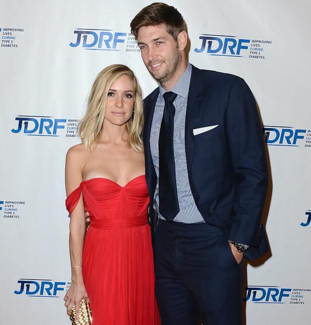 GIFT: Kristin er gift med den tidligere amerikanske fotballspilleren Jay Cutler. Foto: NTB scanpix