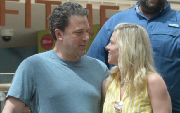 <strong>BRUDD:</strong> Senest i juli så Ben og Lindsay ut til å være svært forelsket. Nå skal det derimot være slutt. Foto: NTB Scanpix