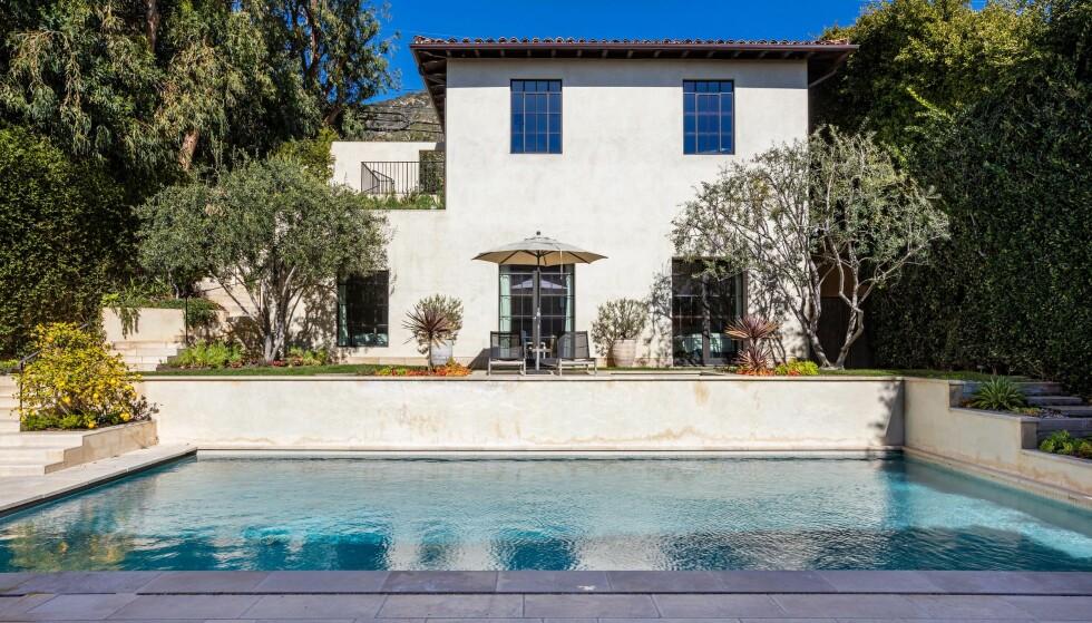 <strong>PITTORESK?:</strong> Stjerneparets nye luksusvilla kan minne om et italiensk «palazzo», ifølge Variety. Foto: Splash News/ NTB scanpix