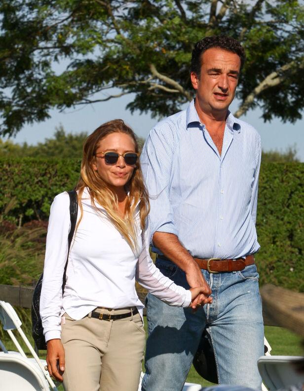 GIFT: Mary-Kate Olsen og Olivier Sarkozy ga hverandre sine ja i 2015. Foto: NTB Scanpix