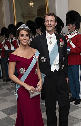 UVANLIG: Flere reagerer på prins Joachims manglende militæruniform, som han historisk sett har brukt i slike formelle anledninger. Foto: NTB scanpix