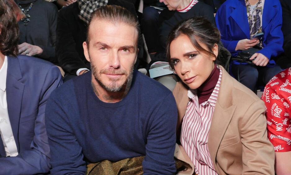 HOLDER SAMMEN: Til tross for en rekke bruddrykter opp gjennom årene, skal forholdet mellom David og Victoria Beckham være sterkere enn noen gang før. Foto: NTB Scanpix