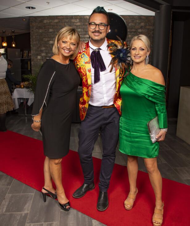 GLEDER SEG: Dommerne Trine Dehli Cleve (57), Tore Petterson (38), og Merete Lingjærde (56) ser frem til resten av sesongen. Foto: Tor Lindseth, Se og Hør