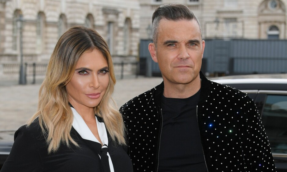 FORELDRE IGJEN: Fredag kunne superparet Robbie Williams og Ayda Field avsløre at de hadde fått en datter. Foto: NTB Scanpix