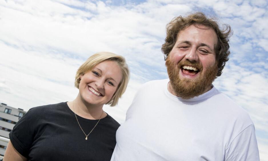 KJÆRESTER: Ronny Brede Aase og Tuva Fellman har vært et par i seks år. Førstnevnte avslører hvordan de egentlig møttes. Foto: NTB Scanpix